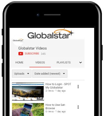 Globalstar YouTube Preview